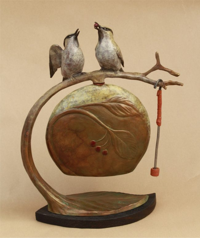 James Moore Sculpture Communion Song Bronze