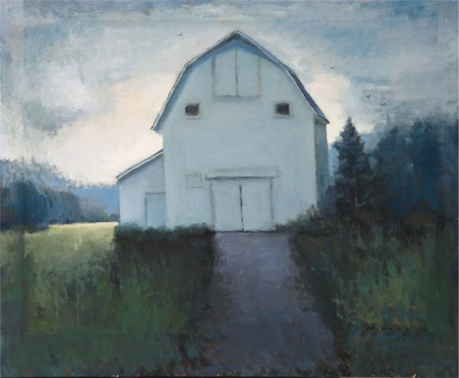 Seth Winegar Painting Late Afternoon Oil on Panel