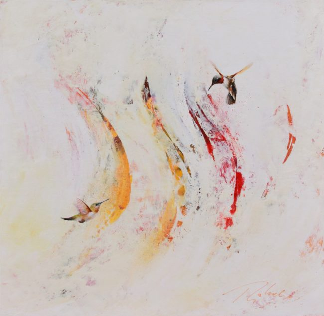 Greg Ragland Painting Rufous in Red