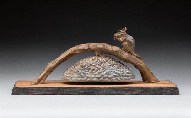 James Moore Sculpture Times O'Plenty Bronze