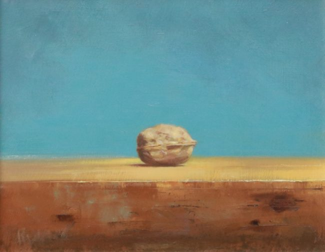 Marc Rubin Painting Found Oil on Panel