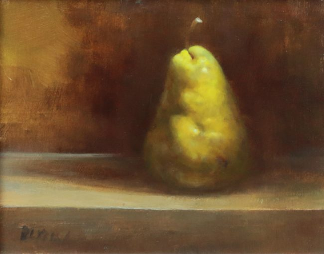 Marc Rubin Painting Just A Scratch Oil on Panel