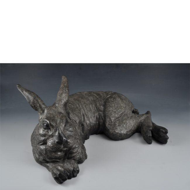 Mark Dziewior Sculpture Rise and Shine Bronze