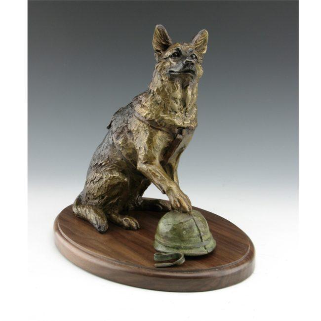 Mark Dziewior Sculpture Unbreakable Bond Bronze