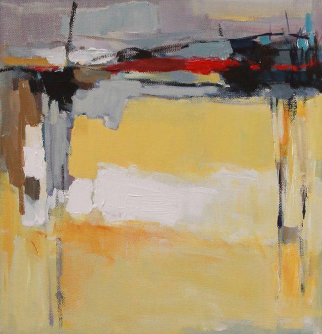 Nazar Harran Painting Tells of Memory Acrylic on Canvas