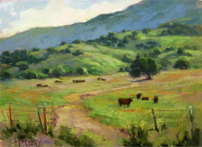 Patricia McGeeney Painting Rancher's Delight Oil on Linen Panel