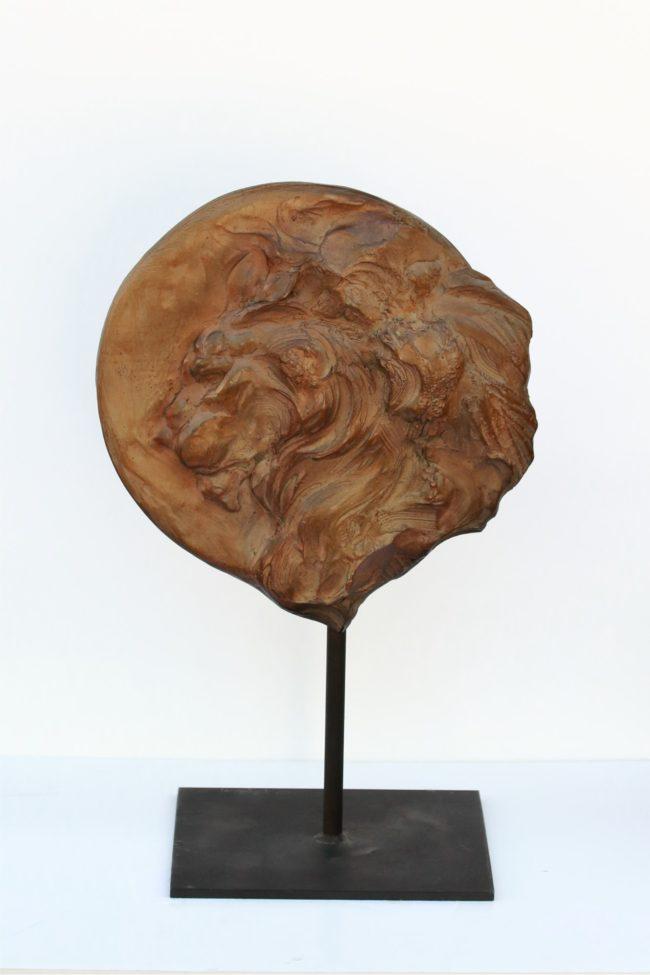 Sandy Scott Sculpture Simba Moon Bronze