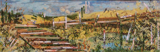 Sara Ware Howsam Painting Alejandra's Bridge Acrylic on Canvas