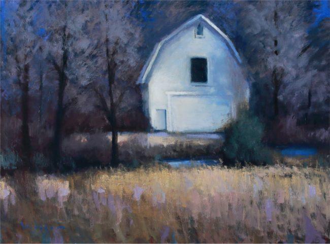 Seth Winegar Painting Receding Colors Oil on Panel