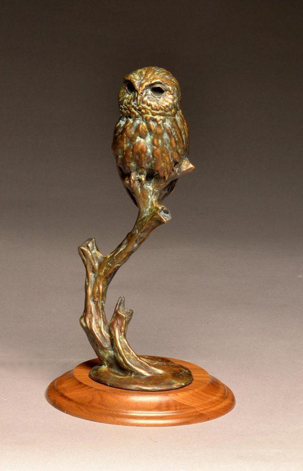 Stefan Savides Sculpture Mini Mouser Bronze