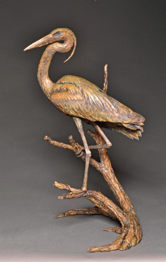 Stefan Savides Sculpture The Opportunist Bronze