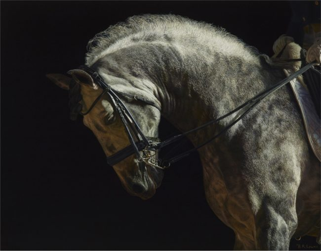 Bruce K. Lawes Painting With Grace Oil on Linen