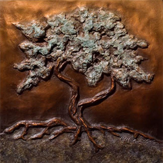 Carol Alleman Sculpture Quiet Blessings Bronze