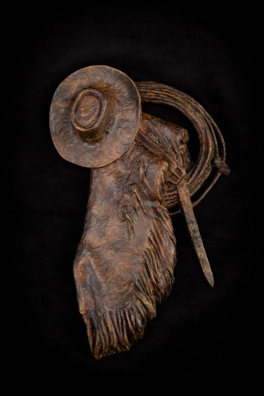 Curt Mattson Sculpture End of the Day Bronze