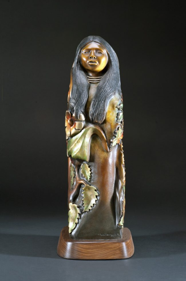 Doug Hyde Sculpture Spring and Autumn Bronze