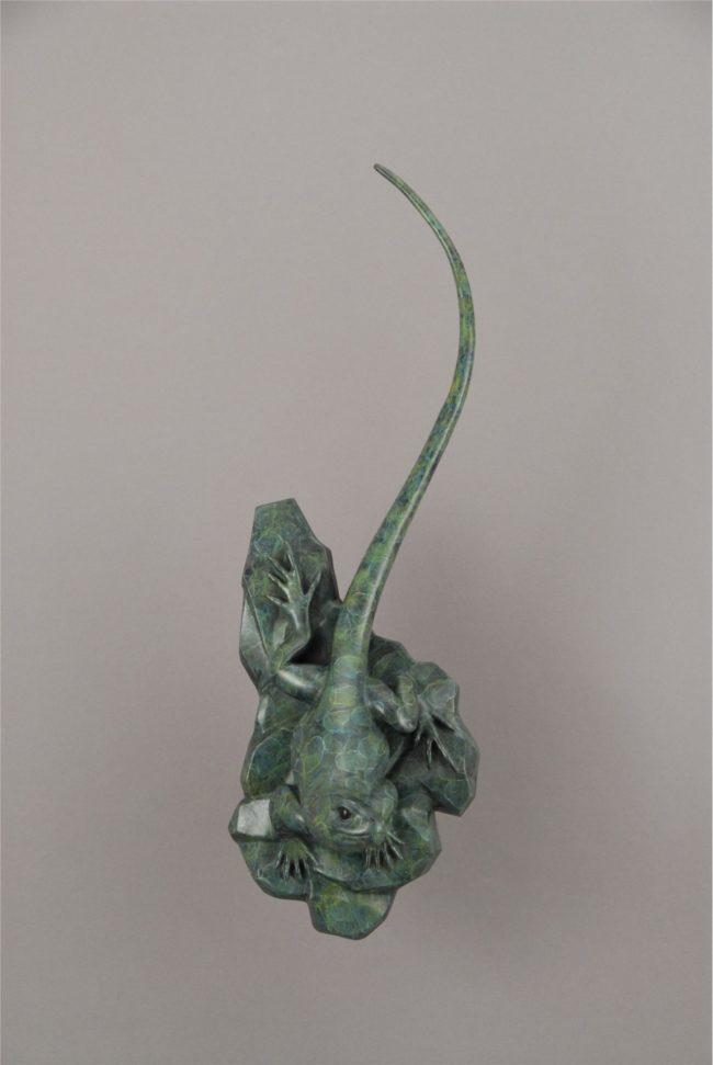 Gerald Balciar Sculpture Take a Look-See Bronze