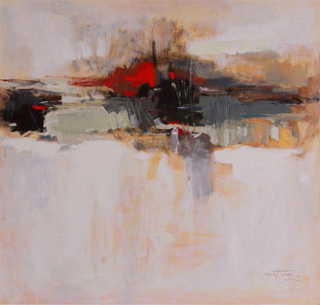 Nazar Harran Painting Horizon Acrylic on Canvas