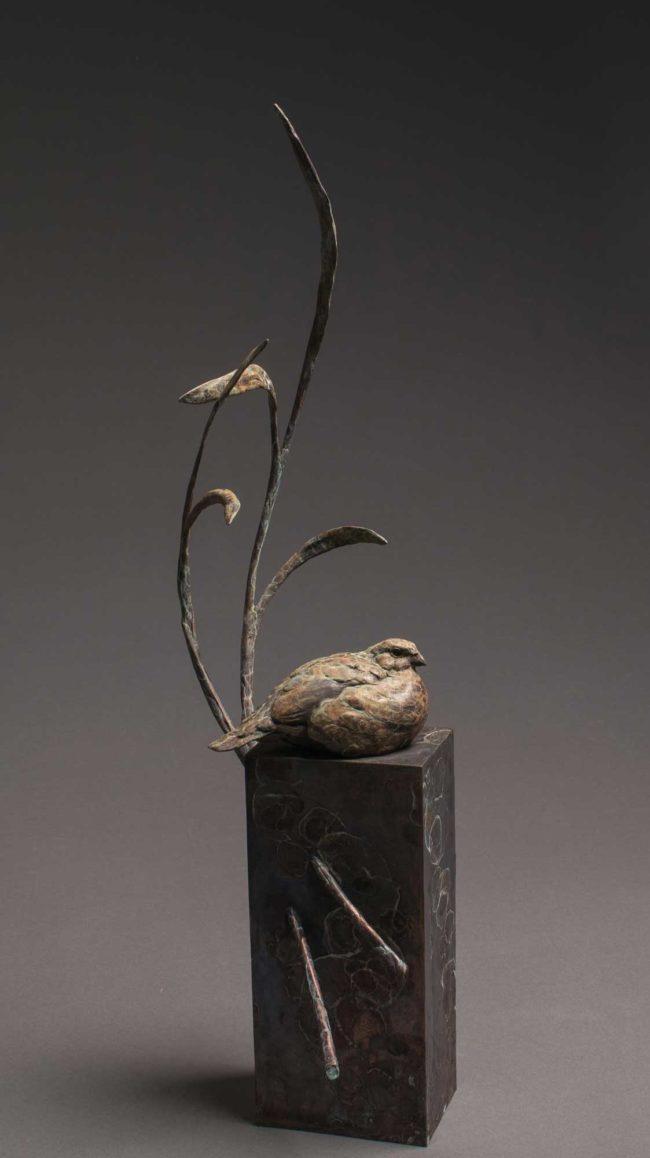 Stefan Savides Sculpture Summer Breeze Bronze