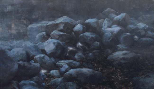 Robin Cole Painting Otherworld Oil on Panel