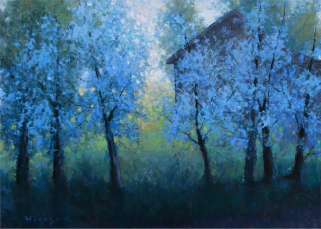 Seth Winegar Painting Shade of Color Oil on Panel