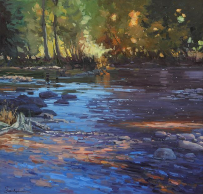 Susie Hyer  Late Summer Dreams II Oil on Linen