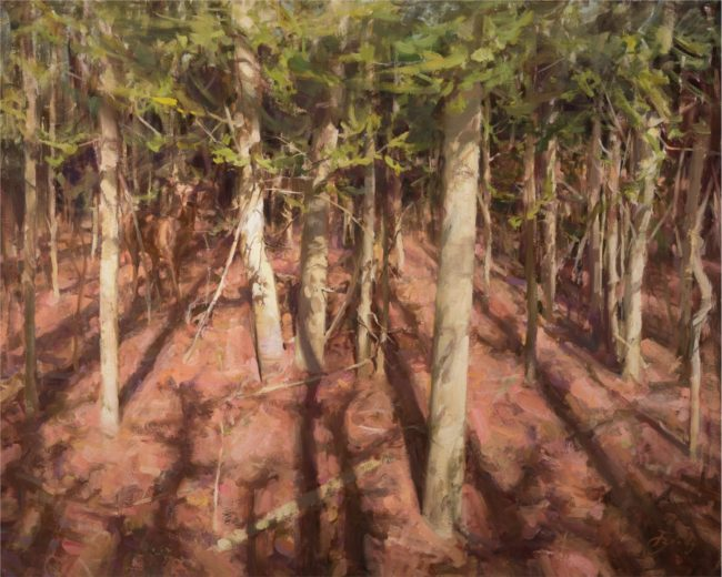 Jared Brady Painting Beckoning Oil on Linen
